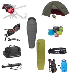 Locattion pack bike packing 1 place
