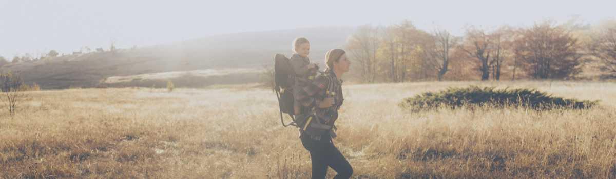 Location porte bébé randonnée Osprey et Deuter