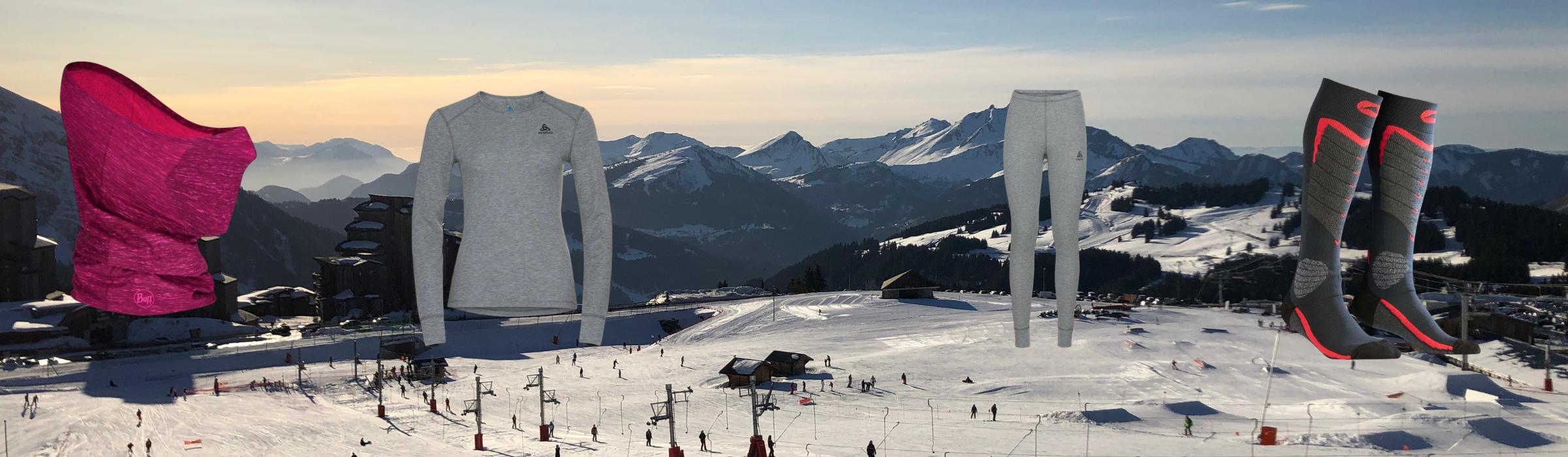 Chaussettes ski enfant Monnet
