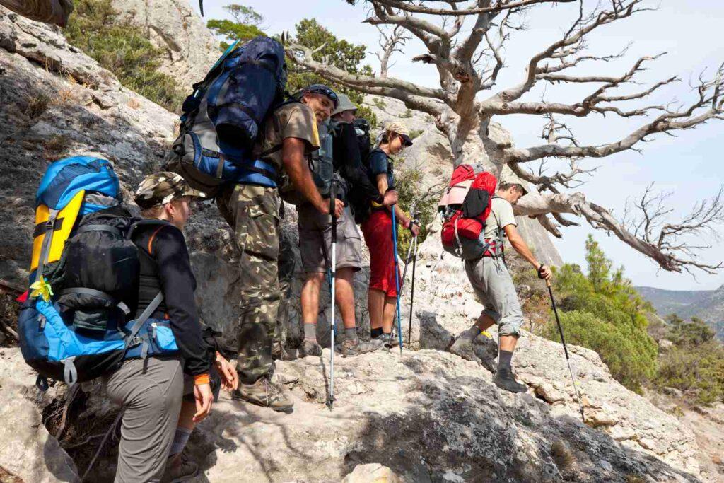 Location matériel de randonnée
