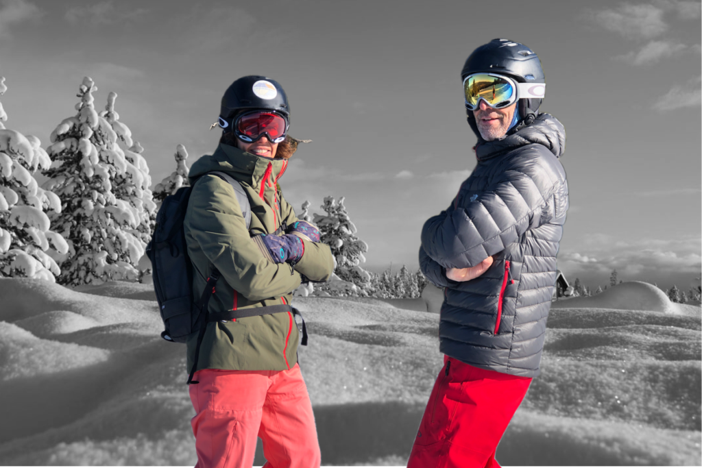 Men's ski jacket and pants rental