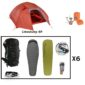 Trekking trekking pack rental 6 people