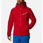 Rental ski jacket columbia Man red Powder 8s
