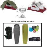 Location Pack rando bivouac MSR HUBBA NX SOLO