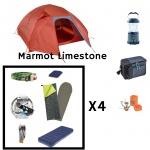 Pack camping 4 P Marmot