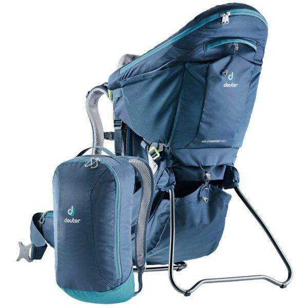 Location porte bébé randonnée Deuter avec sac à dos