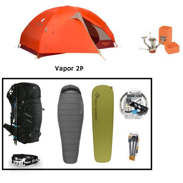 Location pack rando - trekking 1 personne
