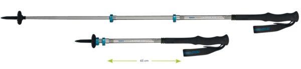 Trekking poles rental