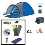 Location pack camping pour 4